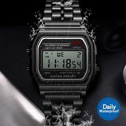 Men Digital Wrist Watches Australia - Vintage Men Watches 2018 Best Sell Sports Watches for Men Women Unisex Gold Silver Digital Wrist Relogio Bayan Kol Saati