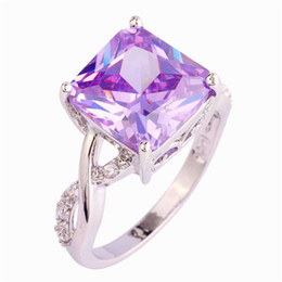 $enCountryForm.capitalKeyWord UK - Fashion popularrings reto light purple cubic zirconia silver plated cheap beautiful ring