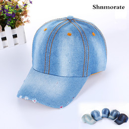 c9a376b35f3 Solid Cheap Wholesale Jeans Flower Brand Adjustable Baseball Cap Women  Snapback Casquette Hat Sport Gorras Hombre Outdoor Caps
