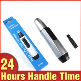 Usage personnel Nez Oreille Tondeuse électrique Visage Rasoir pour cheveux Tondeuse Cleaner Rasage sans fil pour cheveux en Solde