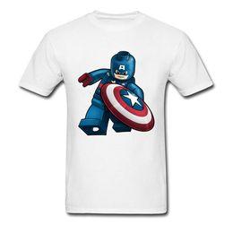 Marvel Shield Canada - Funny Tshirt 90's Cartoon Comic Tees For School Student Captain America Shield T Shirt Marvel Superhero X-Man T-Shirt Cool