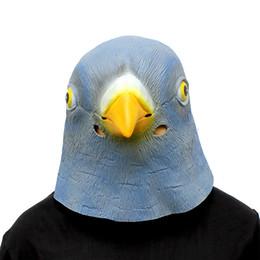 Birds Mask Australia - Halloween New Crazy Animal City Dove Mask Halloween Dress Up Headgearex Bird funny Festival supplies
