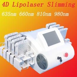 body spa machine 2019 - powerful lipo laser machine Fast burn fat slimming for Body Weight Loss Beauty Equipment spa salon home use machine disc