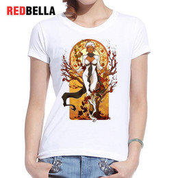 sexy japanese clothing NZ - Women's Tee Redbella Vintage Sexy Women Tshirt Japan Anime Japanese Harajuku Cartoon Casual Hipster Hip Hop Tee Shirt Female Tops Clothing