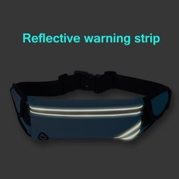Discount cell phone 4.5 inch Sports Waterproof Waist Bag Pack Cell Phone Armbands Holder Case For 6 7 8 Plus X 6s 5 5s SE 4 4s Phones Size 4 to 6 inc