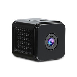webcam detection UK - New Mini Camera WiFi Camera 1080P HD IP Webcam Sport DV Video Recorder Motion Detection Wide Viewing Night Vision for Smartphone