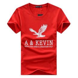 Sh Fashion Canada - summer Fashion brand clothing t shirt men A & kevin durant basketball jersey blue short sleeves combed t-shirts mens hip hop T-sh