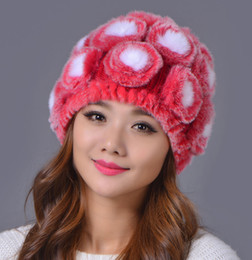 b1c68bbec1528 Sailor hatS for women online shopping - New Fashion Womens Rex Rabbit Fur  Caps Hot Sale
