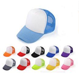 $enCountryForm.capitalKeyWord UK - Kids Trucker Cap Adult Mesh Caps Blank Trucker Hats Snapback Hats kid Size 52-55cm Adult Size 56-60cm Acept Custom Made Logo