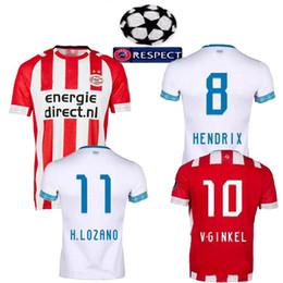 18 19 new adults Jersey PSV Eindhoven football Jersey Home away H. Lozano  L.De Jong Hendrix Philips Sport Vereniging man soccer Jersey e255513c5c079