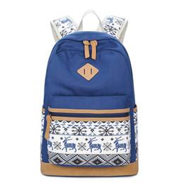 1347b9222791 Canvas Backpack Animal Prints Women Bagpack Teenagers Backpacks For Teenage  Teen Girls Youth Feminine Backpack Mochila Feminina
