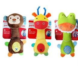 $enCountryForm.capitalKeyWord NZ - Pet Puppy Chew Squeaker Squeaky Plush Sound Pig Elephant Duck For Dog Sound Toys