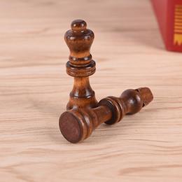 32 Teile / satz 64 Cm Höhe Holz Schachstücke Unterhaltung Spiele