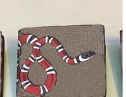 Toptan satış Yüksek kaliteli Çanta Debriyaj Çanta Klasik baskı hayvan patterm Kısa Cüzdan Erkek Kadın Tasarımcı yılan yok kutusu 03