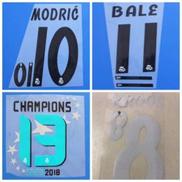 $enCountryForm.capitalKeyWord NZ - 2018 2019 Real Madrid SERGIO RAMOS NAVAS BENZEMA BALE MODRIC MARCELO RONALDO KROOS ASENSIO ISCO font Name number Print patches badges