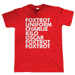 T Shirt Vintage Mens Foxtrot Funny Offensive Birthday Gift For Dad Him Son O Neck Short 100 Cotton Tee
