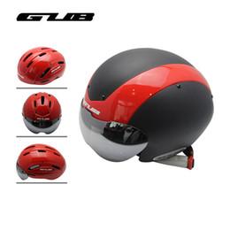 $enCountryForm.capitalKeyWord NZ - GUB 4 Colors Bicycle Helmet Black Ultralight In-mold Cycling Helmet With Visor Breathable Road Mountain MTB Outdoor Bike