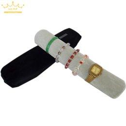 $enCountryForm.capitalKeyWord Australia - Organizer Portable Travel Jewelry Display Roll Bag&Packaging Storage Case for Watches Bracelet Bangle Velvet Cloth Custom Logo