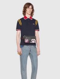 Cotton Express Australia - Express Bee Printed Men's Polo Shirt Men Cotton Short Sleeve Polos Classic Jerseys Tops Casual Collar Male Polo Shirts XXXL