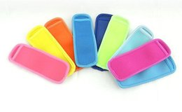 Ice holders online shopping - 18x6cm Ice Sleeves Freezer Popsicle Sleeves Pop Stick Holders Ice Cream Tubs Party Drink Holders