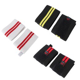 training wrist wrap NZ - AOLIKES 1 Pair Weightlifting Wristband Sport Professional Training Hand Bands Wrist Support Straps Wraps Guards For Gym Fitness
