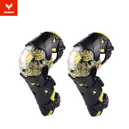 Wholesale 2018 New OFF Road equipment DUHAN motorcycle kneecap knight Riding protection Knee kneepad motorbike Racing protection PC PE