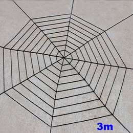 $enCountryForm.capitalKeyWord NZ - Spider web Halloween Plush Toys Black White Cobweb Haunted House Bar Party Festive Prop Stage Indoor Outdoor Festive Supplies Gift HH7-1790