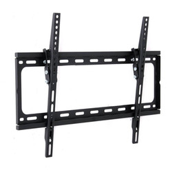 China Free Shipping TV Mount Bracket Black Color For 26 To 55 Inch LED LCD Television HDTV Flat Panel Wall Install Universal Using supplier installing tv suppliers