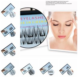 black synthetic hair extensions 2019 - 14 Styles 3 Magnets 3D Magnetic Eyelashes Magnet Lashes Handmade Reusable False Eyelashes Eyelash Extension Eye Makeup A