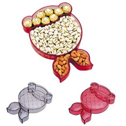 $enCountryForm.capitalKeyWord Australia - New Innovative Goldfish Fruit Bowl Candy Box Cartoon Animal Shape Fruit Plate Gift Box Snack Storage Birthday Wedding Favor