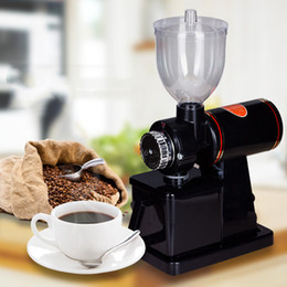 Discount bean machine - Commercial Office Electric Coffee Grinder Machine coffee millling grinder Home Coffee Bean Grinder Makers 220V 110V
