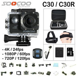 China SOOCOO C30   C30R Remote Action Camera Gyro HD 4K WiFi 2.0 LCD Sport Cam NTK96660 30M Waterproof Camera supplier hd action cams suppliers
