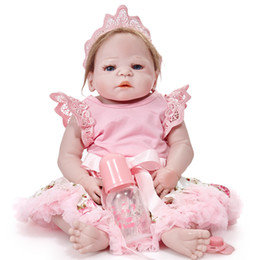 $enCountryForm.capitalKeyWord UK - Brand Reborn Dolls Lifelike Newborn Realistic Baby Doll (Silicone Vinyl Full Body, Waterproof)22inch