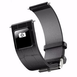 Vente en gros Livraison gratuite Onleny H1 20mm 22mm Bracelet de montre Bluetooth 4.0 Smart Band Bracelet 0.42