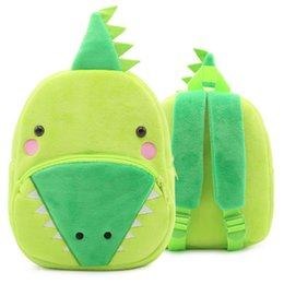 Crocodiles Alligator Toys Australia - Crocodile backpack Alligator toy day pack Young child school bag Kids packsack Plush rucksack Sport schoolbag Outdoor daypack