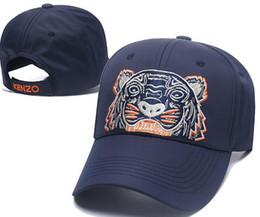 2018 New Design Cotton High quality Caps Tiger head Embroidery Hats Winter  Baseball Cap Men Bone Trucker Hat Gorras Snapback Hip-Hop Dad Cap 94d9f488050