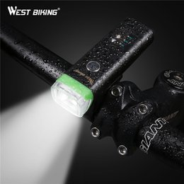 $enCountryForm.capitalKeyWord NZ - WEST BIKING Intelligent Bicycle Light Sensor Auto Lamp Waterproof USB Rechargeable Cycling Warning 4 Modes Bike Light