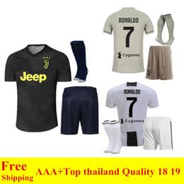 fc3a0aa905f Discount new uniforms - 2018 2019 new JUVENTUS Soccer sets 18 19 JUVE Home  RONALDO soccer
