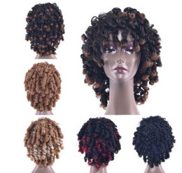 $enCountryForm.capitalKeyWord NZ - African new wig short hair lady black hairpin explosion head set European and American hot selling factory direct sale