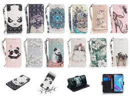 $enCountryForm.capitalKeyWord Canada - 3D animal Painting PU Leather flip cat bear dog Wallet Covers Case for iphone XS MAX XR X 6 7 8 PLUS Samsung S8 S9 PLUS NOTE9