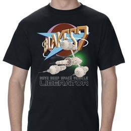$enCountryForm.capitalKeyWord Australia - Blakes 7 LIberator And Logo Adult T-Shirt NEW ARRIVAL tees causal summer t shirt cheap wholesale custom printed tshirt