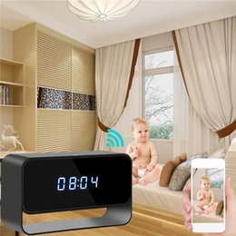 $enCountryForm.capitalKeyWord Australia - 32GB New 1080P HD WiFi Night Vision Camera Ditigal Alarm Clock Camera Motion Activated Security Camera Wireless Nanny Cam for Android iPhone