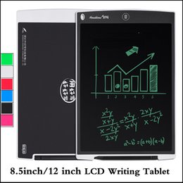 $enCountryForm.capitalKeyWord NZ - LCD Writing Tablet 8.5inch 12 inch Digital Memo Drawing Board Blackboard Handwriting Pads With Upgraded Pen for Adults Kids Office