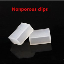 Silicon plugS online shopping - 100pcs Silicon clip end caps tail plug use for SMD5050 ws2801 ws2811 ws2812b tube waterproof led strip light non hole