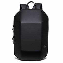 Shell backpackS online shopping - 2018 New Designed D ABS Shell Backpack Simple Pure Color Computer Backpack Novelty Student Bag Men and Woman Travel Backpacks