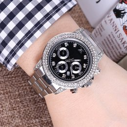 Discount pearl watch men - 2018 Luxury Gold President Day-Date Diamonds Watch Men Stainless Mother of Pearl Dial Diamond Bezel Automatic WristWatch