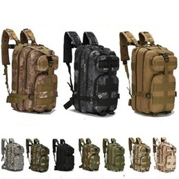 Wholesale clothing packs online shopping - 3P Hiking Camping Military Pack Both Shoulders Backpack Rucksack Tactical Travel Bag Rucksacks Camouflage Outdoor Bags Hot Sale ly gg