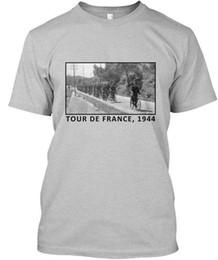 Toptan satış Ww2 Alman Ordusu Tour De France - Fransa, 1944 Premium Tee Tişört