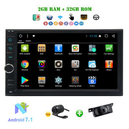 "wifi speakers NZ - Car Radio 2 Din Android 7.1 Car Stereo Octa-core 2GB+32GB 7"" TouchScreen Multimedia Player In Dash HeadUnit WIFI FM AM RDS Radio"