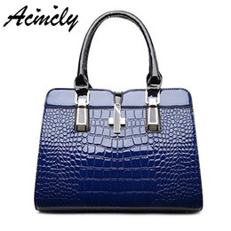 0aa5cab795c Luxury Alligator PU Leather Women Handbag Women Bag Cross Lock Design Women  Leather Shoulder Bags Female Bolsas a691 o